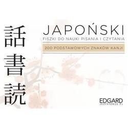 Japoński Fiszki Pisz i czytaj 200 kanji