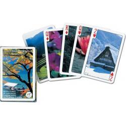 Karty do gry - Cztery pory roku w Japonii