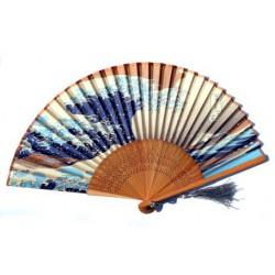 Wachlarz składany bambusowy sakura