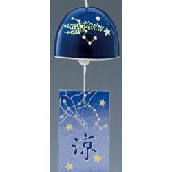 Furin - dzwonek wietrzny konstelacja świeci w ciemności