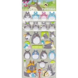 Naklejki Totoro 3d wypukłe