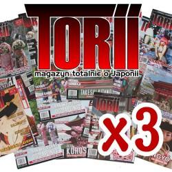 Torii dowolne numery - pakiet 3 egzemplarzy