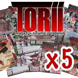 Torii dowolne numery - pakiet 5 egzemplarzy