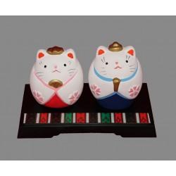Zestaw figurek Hina Matsuri - kotki
