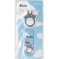 Dwupak zakładek magnetycznych do książki - Totoro niebieski
