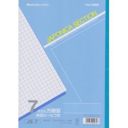 Zeszyt do nauki pisania kanji 7 mm B5
