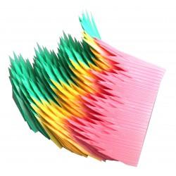 Paran - sztuczna trawa do sushi lub bento 100 szt. - kolorowa