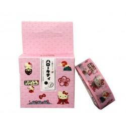 Taśma 15 mm 7 m różowa Hello Kitty