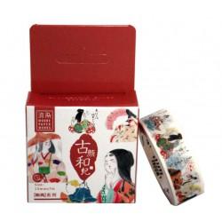 Taśma 15 mm 7 m biała kultura Heian