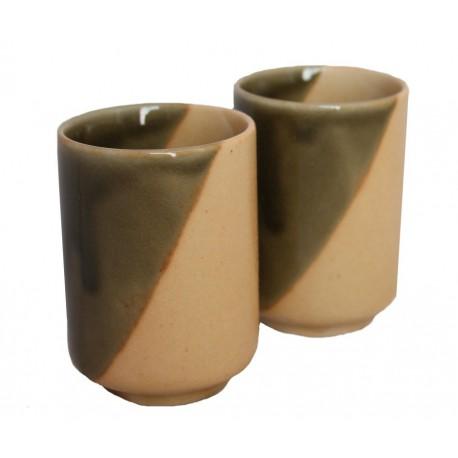 Czarki yunomi komplet 2 szt ceramika Iga