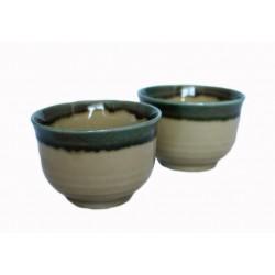 Czarki komplet 2 szt ceramika Kiseto