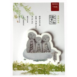 Karteczki samoprzylepne memo Jizo