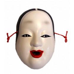 Maska ceramiczna - kobieta średnia 10 cm