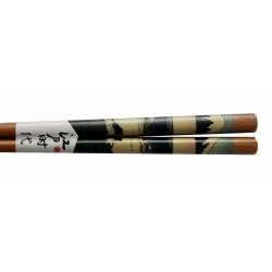 Pałeczki bambusowe drzeworyt Góra Fuji wzór 1