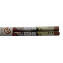 Pałeczki bambusowe drzeworyt gejsza wzór 4