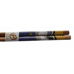 Pałeczki bambusowe drzeworyt gejsza wzór 5