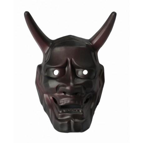 Maska ceramiczna - demon hannya średnia 16 cm
