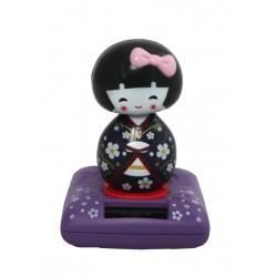 Zabawka solarna - dziewczynka w kimonie