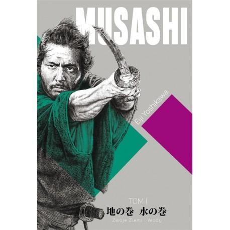 Musashi. Tom 1. Zwoje Wiatru i Wody - Eiji Yoshikawa
