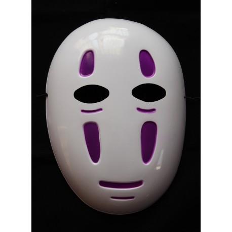 Maska plastikowa na cosplay - Kaonashi fioletowa