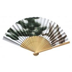 Wachlarz składany bambusowy sosny