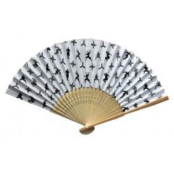 Wachlarz składany bambusowy Shinobi - Ninja