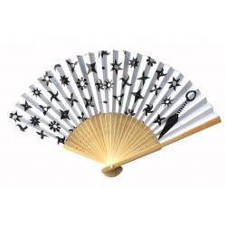 Wachlarz składany bambusowy shurikeny - broń ninja