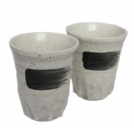Czarki yunomi komplet 2 szt ceramika Mino