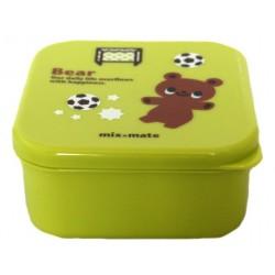 Pudełko na bento dziecięce 400 ml zielone