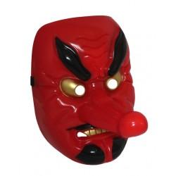 Maska plastikowa na cosplay - japoński demon tengu