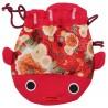 Kinchaku - torebka do kimona złota rybka