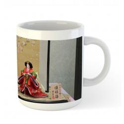 Kubek ceramiczny - Hina matsuri