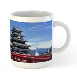 Kubek ceramiczny - zamek w Matsumoto