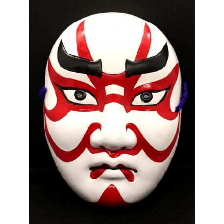 Maska ceramiczna - kabuki średnia 18 cm