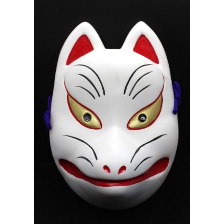 Maska ceramiczna - lis Inari średnia 18 cm