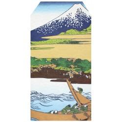 Mini-koperta pochi-bukuro ukiyo-e góra Fuji 1 szt.