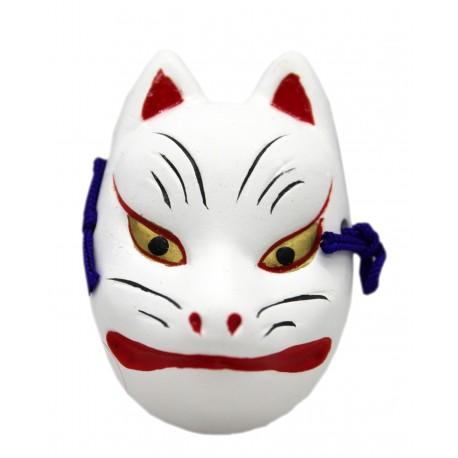 Maska ceramiczna - lis Inari mała 5 cm
