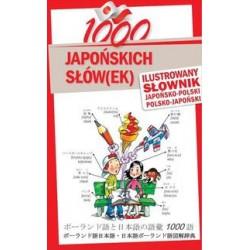 1000 japońskich słów(ek) Ilustrowany słownik japońsko-polski